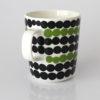 Siirtolapuutarha / マグカップ / ホワイトxブラックxグリーン