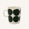 Kivet / マグカップ / ホワイトxダークグリーン